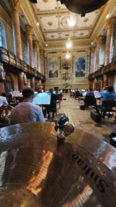 Corona-Probe am 10.07.20 in der Evang. Stadtkirche Tuttlingen