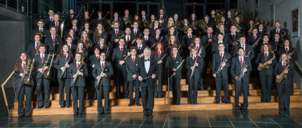 Städtisches Blasorchester Tuttlingen mit Ehrendirigent Musikdirektor Klaus Steckeler - am 18. November 2021